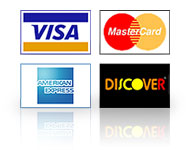 Visa Mastercard Amex and Discover accepted by Argo Electrical Services Gainesville, Dawsonville, and Cumming Georgia